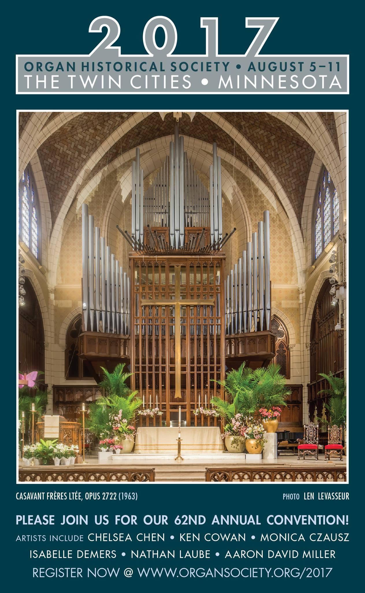 Organiste net | Calendar of Organ Recitals, Workshops,and Events