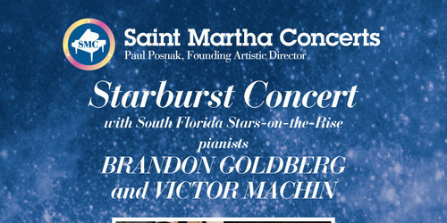 Saint Martha Concerts Starburst Concert May 21 at 4pm