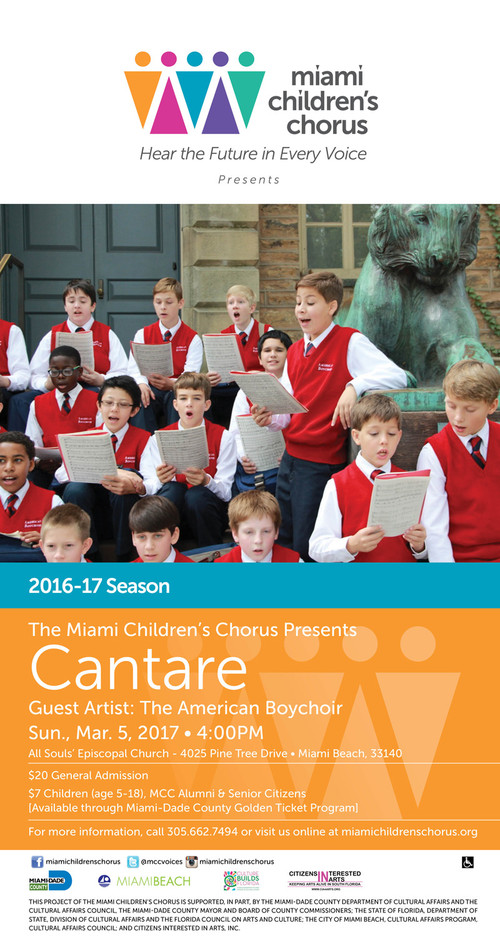 Miami Children's Chorus - Cantare