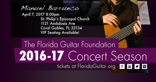 The Florida Guitar Foundation 2016-2017 Concert Season