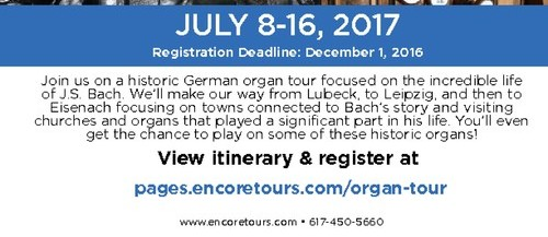 germany, travel, international travel, organ tour, tour for organists,