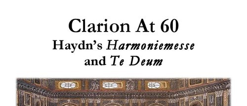 Clarion, Haydn, New York, choral music