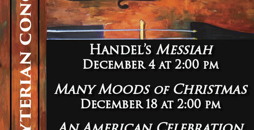Choir, orchestra, organ, harpsichord, Christmas, Messiah, patriotic, piano, Greig, Brahms, family events,