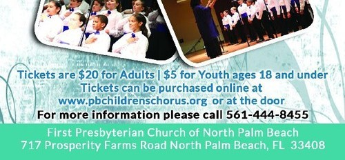 children's chorus, classical music, youth, musical theatre, Palm Beach Gardens,  North Palm Beach,  First Presbyterian of North Palm Beach,  Sandi Russell,  choral concert