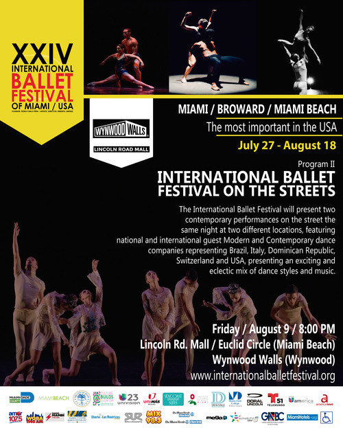 XXIV Int Ballet Festival of Miami / On the Streets