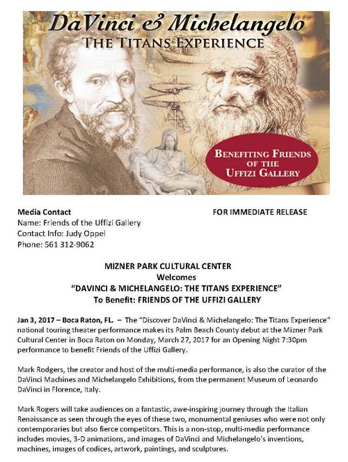 DaVinci & Michelangelo