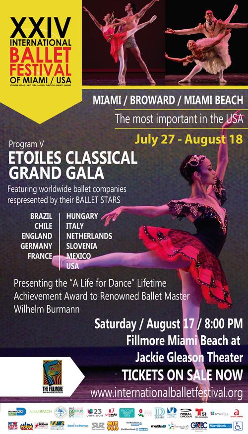 XXIV Int Ballet Festival of Miami / Etoiles Classical Gala