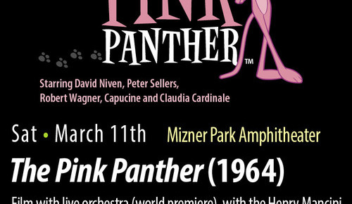 Festival of the Arts BOCA March 11 The Pink Panther Film with Live Orchestra