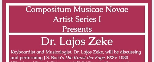 Bach, Keyboard, Piano, Classical Music, Lecture, Performance
