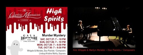 Halloween, Murder Mystery, Piano, Guest Singers, Photography
