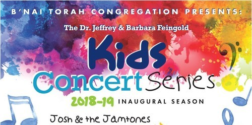 Dr. Jeffrey and Barbara Feingold Kids Concert Series, Josh and the Jamtones