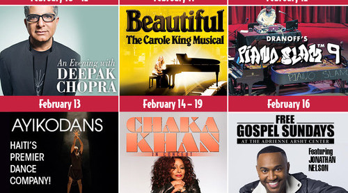 February and Beyond at the Arsht Center