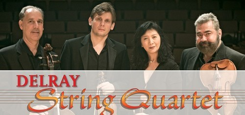 Delray String Quartet's Final Concert of the Season: Concert #5,  Mar 22. Ft. Lauderdale / Mar 26, Delray Beach