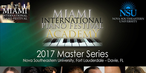 piano, classical, recitals, Nova Southeastern University,