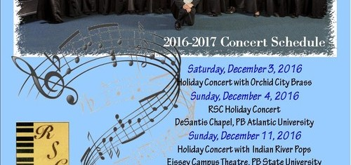 The Robert Sharon Chorale 2016-2017 Concert Schedule