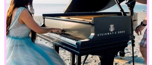 SHUREE...My first music video on Delray Beach, Florida, piano