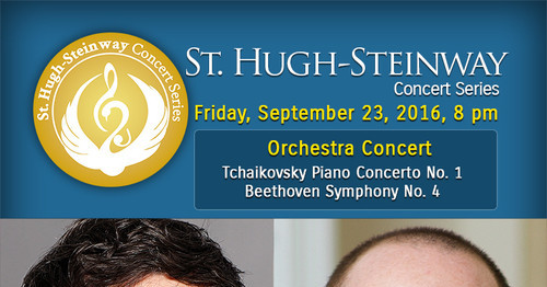 St. Hugh-Steinway Concert Series Friday, September 23, 8 pm Orchestra Concert