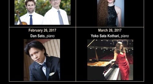 TRINITY CONCERT SERIES 2016-2017 SEASON!  Classical music at it's finest featuring talented musicans: Palm Trio, Duo Beaux Art, TnT Duo, Christopher Ohanian, Dan Sato and