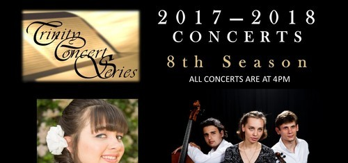 Trinity Concert Series Concerts - 8th Season Ft. Lauderdale, FL, piano, violin, cello, obeo, classical music