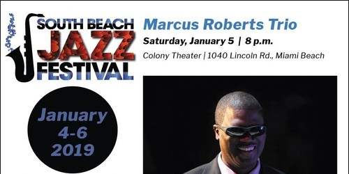 jazz, marcus roberts, piano, miami beach