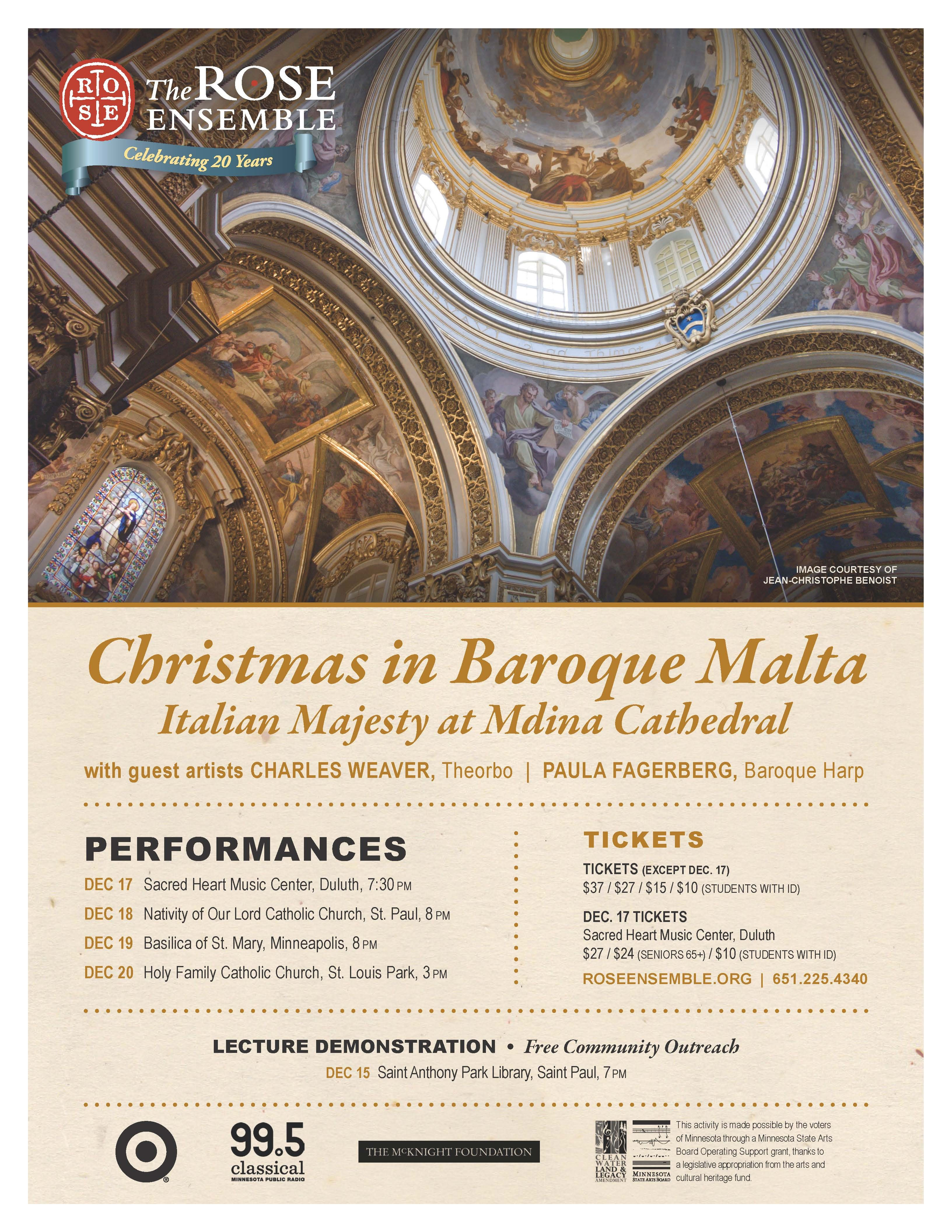 christmas in baroque malta italian majesty at mdina cathedral - Christmas Classical Music