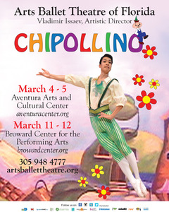 Arts Ballet Theatre of Florida Chipollino