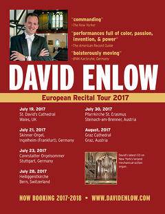 David Enlow European Tour 2 017