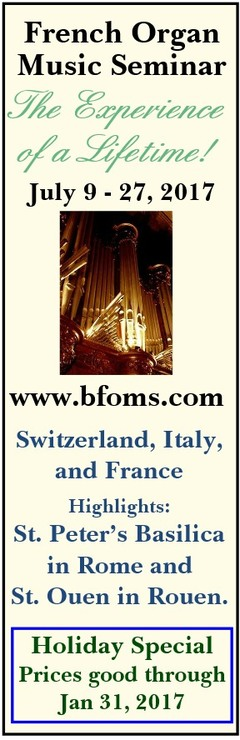 French Organ Seminar