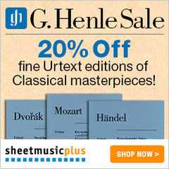 G. Henle Sale at Sheet Music Plus