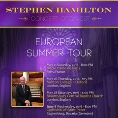 Stephen Hamilton European Tour 2016