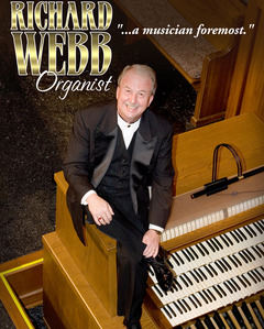 Richard Webb, Organist