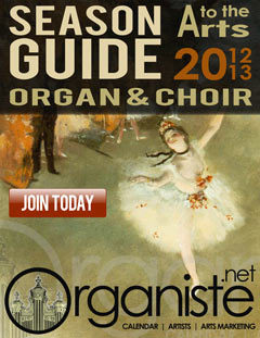 Season Guide Organ & Choir 2012-2013
